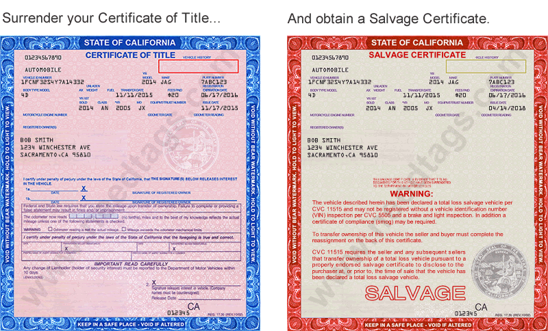 Do I Have To Get a Salvage Certificate If My Vehicle Is a